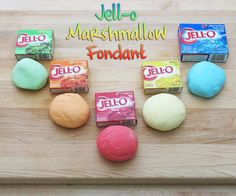 How-To: Jell-O Marshmallow Fondant | MAKE: Craft