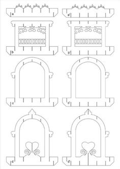 3d pop-up ( pattern) - Wioletta Matusiak - Álbuns da web do Picasa