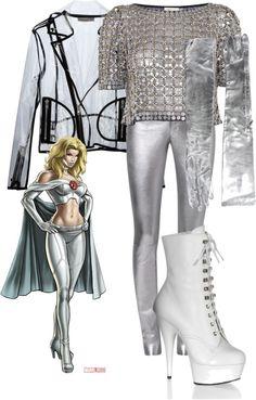 """Emma Frost (X-Men)"" by mollylsanders on Polyvore"