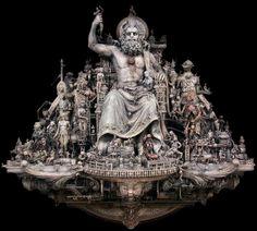 Kris Kuksi. Escultura de tintes barrocos y realistas