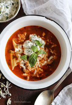 Lasagna Soup (via Bloglovin.com )