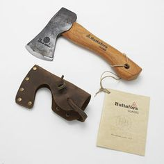 Hultafors Classic Trekking Axe - mini. Crafted from forged Swedish axe steel.