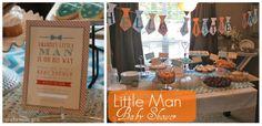 Crafty Texas Girls: Little Man Baby Shower