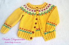 Children's cardigan cotton vest for children cotton kids vest Bolero handmade by veseladr on Etsy