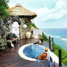 """Karma Kandara Resort in  #bali #indonesia - #oneworldtrips   Located in Bali's Bukit Peninsula, Karma Kandara Resort is one of Bali's most luxurious. The property sits in a location which is named as """"Billionaire's Row"""" due to its sweeping views ...  The famous cliff of Uluwatu is just a few kilometers away from the resort.. Not only is it mesmerizing to look at, the southernmost point of Bali is also home to the Pura Luhur Uluwatu or Uluwatu Temple.  :http://www.oneworldtrips.com/"""