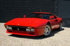 Ferrari 288 GTO.  My favorite Ferrari.  Only 272 produced.  I saw one once when I was 12, at a McDonald's no less.