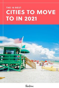 If you're looking for a change of scenery, why not check out one of these zip codes? Wilmington, Boise and Sarasota are just a few of the most popular cities to move to right now, according to data provided by professional movers. #cities #city #moving Siesta Key Condo, United Van Lines, Tennessee Smokies, Wrightsville Beach, Around The World In 80 Days, Sunshine State, United States Travel, Fort Myers, Best Cities