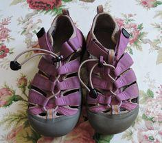 Keen Youth Girl  Newport H2 Magenta Waterproof Sport Sandals Size 3 #KEEN #Sandals
