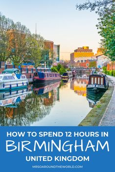 How to spend a day in Birmingham, England. A 12 hour day trip guide for the ultimate UK trip with travel tips including things to do, food recommendations, and where to find the best skyline view. | Mrs O Around the World #Travel #TravelTips #TravelGuide #Wanderlust #BucketList #Europe #Birmingham #England | Europe Trip | Travel Tips | Birmingham UK | Travel England Beautiful Places | UK Trip Traveling Europe, Europe Travel Tips, Travel Destinations, Birmingham United Kingdom, Birmingham England, Travel Ideas, Travel Inspiration, Travel Around The World, Around The Worlds