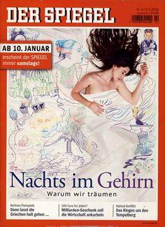Nachts im Gehirn - Warum wir träumen. Gefunden in: Der Spiegel, Nr. 2/2015