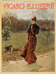 1893 Figaro Illustre' vintage cover