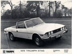 1973 Triumph Stag Triumph Car, Triumph Motor, Vintage Sports Cars, Vintage Cars, Commercial Vehicle, Coventry, Sport Cars, Cars And Motorcycles, Boats