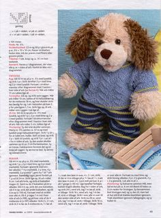 Albumarkiv Doll Clothes Patterns, Clothing Patterns, Doll Toys, Dolls, Build A Bear, Baby Born, Stuffed Toys Patterns, Free Pattern, My Design