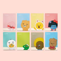 [Kakao] Kakao Friends Character Letter Lined writing stationery Paper with Envelope Set official goods comic. Content: Kakao Friends Character Letter Lined writing Paper with Envelope. This Sticker is Official Daum Kakao Friends goods. Cafe Posters, Lined Writing Paper, Wallpaper Fofos, Character Letters, Kakao Friends, Lined Notebook, Line Friends, Stationery Paper, Fun Comics