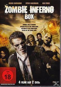 Zombie Inferno Box - 4 Filme auf 2 DVDs