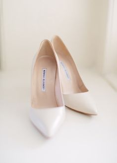 Elegant neutrals: http://www.stylemepretty.com/2015/10/12/our-fave-manolo-blahnik-shoes-for-the-bride/