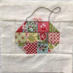 Block 97 of The Splendid sampler quilt