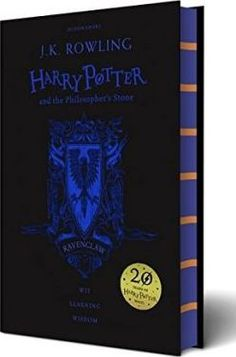 Exclusive-Ravenclaw-House-Edition-to-celebrate-the-20th-anniversary-of-the-first-publication-of-Harry-Potter-and-the-Philosophers-Stone-a-highly-collectable-must-have-for-all-Harry-Potter-fans<< NEED THIS. SO BADLY.