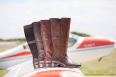 The Dubarry Fermoy Boots available in Chestnut, Walnut, Mahogany and Black/Brown. Dubarry Boots, Rm Williams, Country Outfits, Different Styles, Riding Boots, Black And Brown, Footwear, Lady, Shopping
