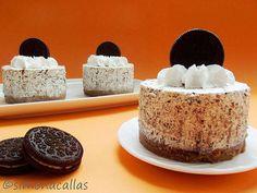 Tortulete cu Oreo Red Velvet Cheesecake, Oreo Cheesecake, Oreo Mousse, Mini Cakes, Cheesecakes, Vanilla Cake, Ricotta, Wedding Cakes, Bacon
