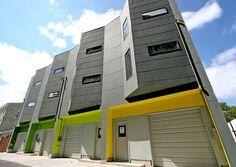 Postgreen Homes Builds Gutsy Modern Townhouses in Philadelphia