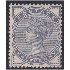 Great Britain 1884 SG187 1/2d slate-blue UMM - has gum creases (ref 5103) Listing in the Queen Victoria,Great Britain,Stamps Category on eBid United Kingdom | 145151108