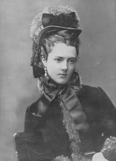 1880s Georgina Elizabeth (née Moncreiffe), Countess of Dudley by Alexander Bassano