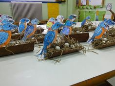 Winter Crafts For Kids, Animal Crafts, Winter Activities, Preschool, Decoration, Birds, Children, Spring, Techno