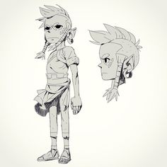 Having fun with this design. I wonder if anyone will guess who this is. #characterdesign ★ || CHARACTER DESIGN REFERENCES (https://www.facebook.com/CharacterDesignReferences & https://www.pinterest.com/characterdesigh) • Love Character Design? Join the Character Design Challenge (link→ https://www.facebook.com/groups/CharacterDesignChallenge) Share your unique vision of a theme, promote your art in a community of over 25.000 artists! || ★