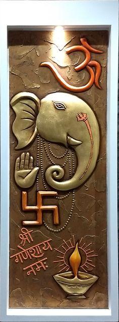 Ganesha – Mural Wall Art – Credible Art