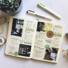 """acadaemic: """"i haven't made a weekly spread in what feels like forever so i had a lot of fun with this one ✨ """""""
