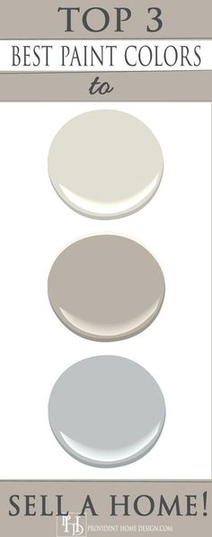 Professional Stager Shares her Top 3 Go-to-Paint Colors for Selling Homes!: