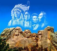 Les Grands Chefs amérindiens et les premiers présidents américains