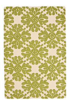 Coqo Floral Rug #anthropologie - Pretty much anything from this store is fabulous, in my opinion. Would love this as an accent for baby Mac's room.