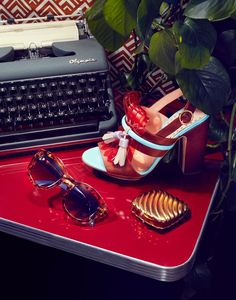 """<p>New York based set designer, Sophie Leng introduced us to her latest editorials shot by Will Styer. Both are gorgeous still lifes with the first set influenced by elements of Dutch Masters still life paintings and the second set, called """"Looking back in Retro-specs,"""" is a retro-styled sunglasses and shoes set in 70s diner vibe.…</p>"""
