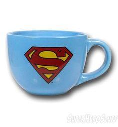 Superman Symbol 24 oz Soup Mug