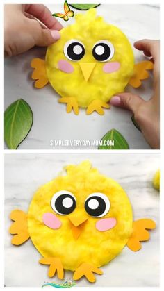 Bear Craft | Bear crafts, Fathers day crafts, Art for kids Fluffy Chick Craft For Kids | Make this cute paper chick craft for spring or Easter. It uses only simple supplies and is easy enough to use with kids in preschool, kindergarten or elementary school.   #kidscrafts #craftsforkids #chickcrafts #farmcrafts #easter #eastercrafts #eastercraftsforkids #farmactivities #kidsactivities #kidsactivity #preschoolercrafts #kindergarten #elementary #simpleeverydaymom #preschool… Spring Crafts For Kids, Projects For Kids, Art For Kids, Art Projects, Kids Fun, Summer Crafts, Fall Crafts, Garden Projects, Simple Kids Crafts