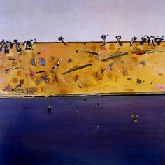 Paintings - Frederick (Fred) Ronald Williams - Page 4 - Australian Art Auction Records Abstract Landscape, Landscape Paintings, Abstract Art, Australian Painting, Australian Artists, European Paintings, Contemporary Paintings, Fred Williams, Illustrations And Posters