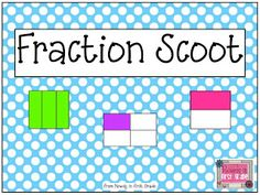 Rowdy in First Grade: Fractions and a freebie