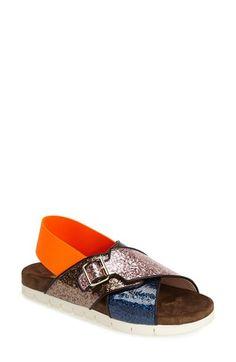 MSGM Slingback Slide Sandal (Women) available at #Nordstrom