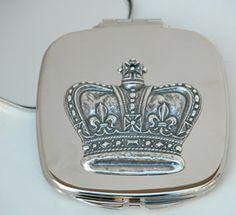 Crown Pocket Mirror