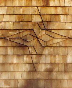 pretty cedar shingle design