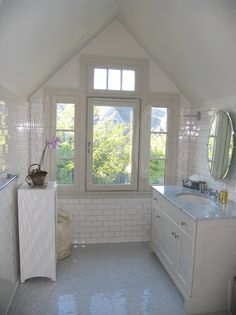 Image from for New england style bathroom ideas