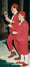 Walter & Tommy in Wintercircus Martin Hanson - 1988 / 1989