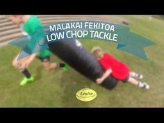 Malakai Fekitoa Low Chop Tackle | LeslieRugby - YouTube