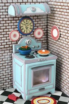 Cookie oven (yes it's a cookie) by Julia M Usher