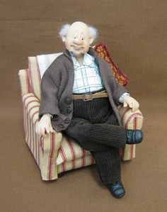 12th Scale Doll ~ Granddad | Flickr - Photo Sharing!