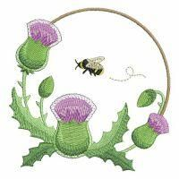 Blooming Thistle - Ace Points | OregonPatchWorks