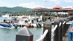 Boats @ Jesselton Point Kota Kinabalu Kota Kinabalu, Opera House, Boats, Building, Travel, Viajes, Ships, Buildings, Destinations