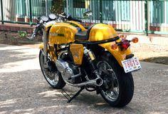 Ferro Velho Motos  Antigas : Ducati 900 Modificada